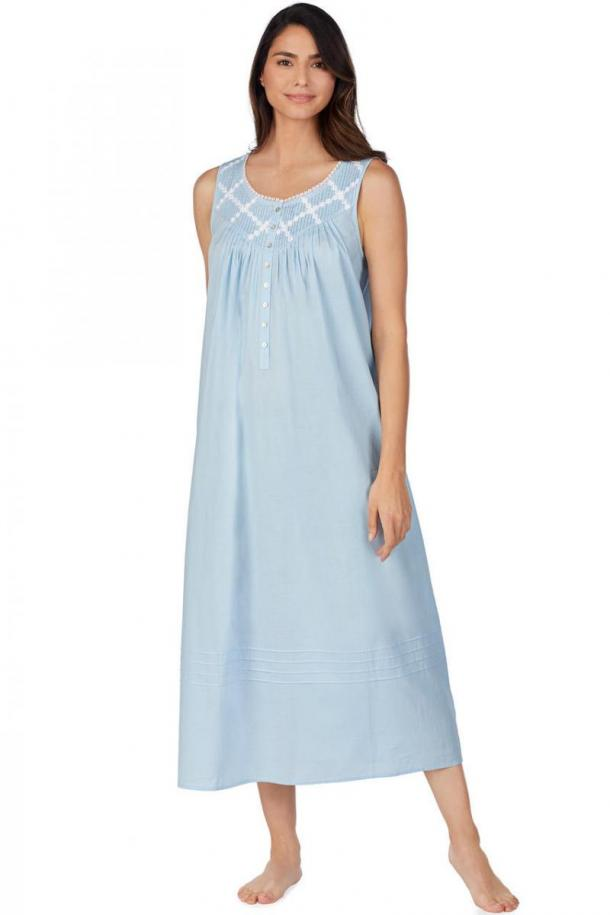 Eileen West Poetic Lawn Ballet Woven Nightgown