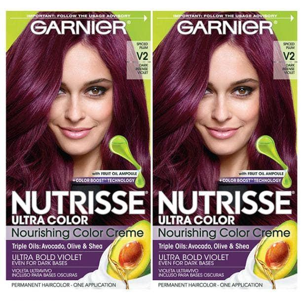 Garnier Nutrisse Ultra Color Nourishing Color Cream in Ultra Bold Violet