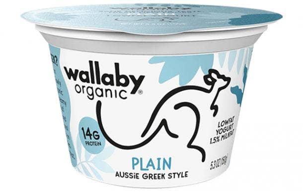 Wallaby Organic Plain Aussie Greek Yogurt