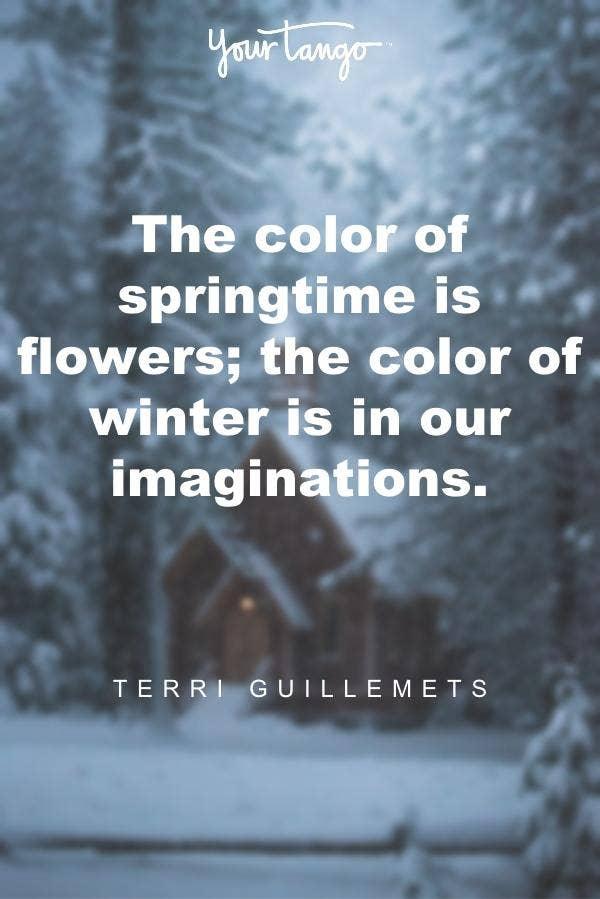Terri Guillemets winter solstice quote