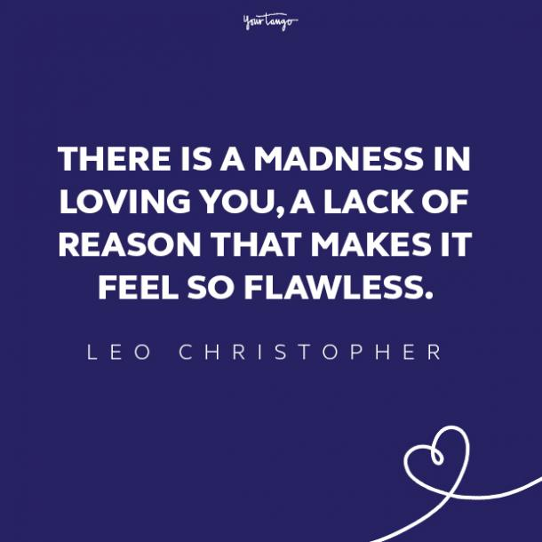 leo christopher love quote