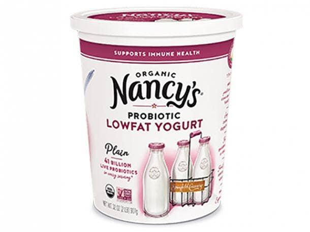 Nancy's Organic Low Fat Yogurt