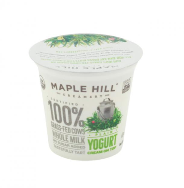 Maple Hill Creamery Organic Plain Grass Fed Yogurt