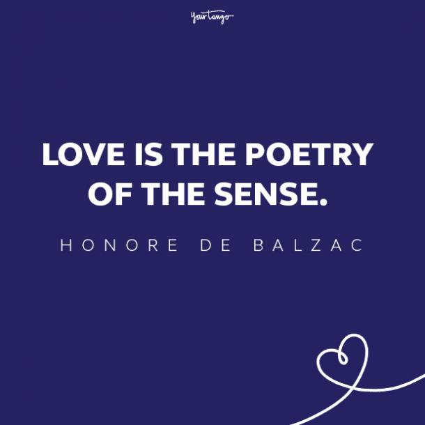honore de balzac love quote