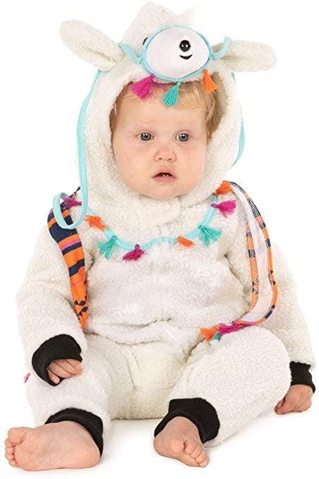 Tipsy Elves Baby Llama Halloween Costume
