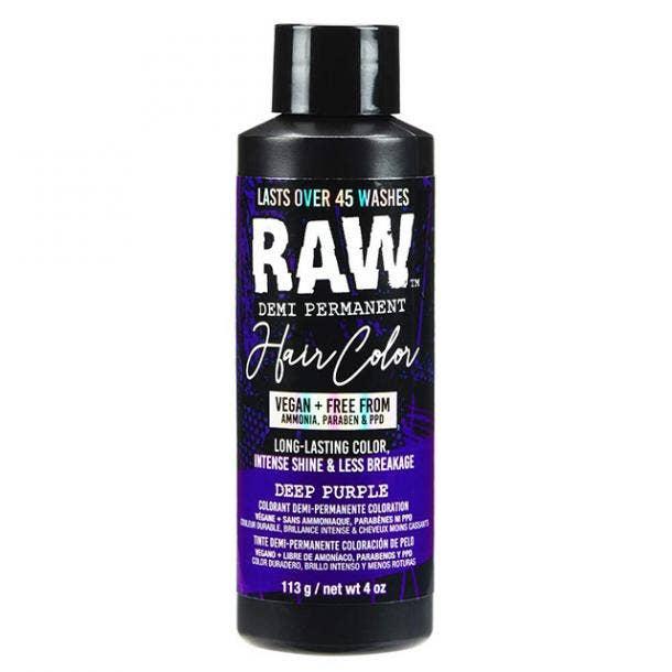 RAW Deep Purple Demi-Permanent Hair Color