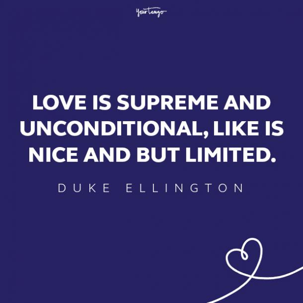 duke ellington love quote