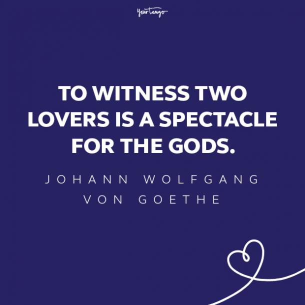 von goethe love quote