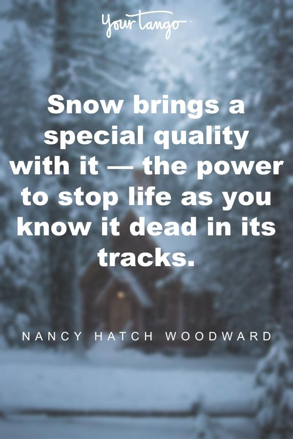 Nancy Hatch Woodward winter solstice quote