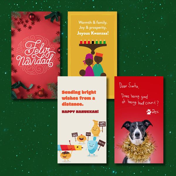1800flowers Holiday Cards