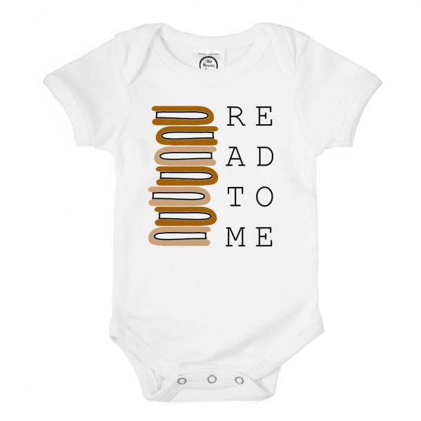 Spunky Stork Read To Me Bookworm Bodysuit