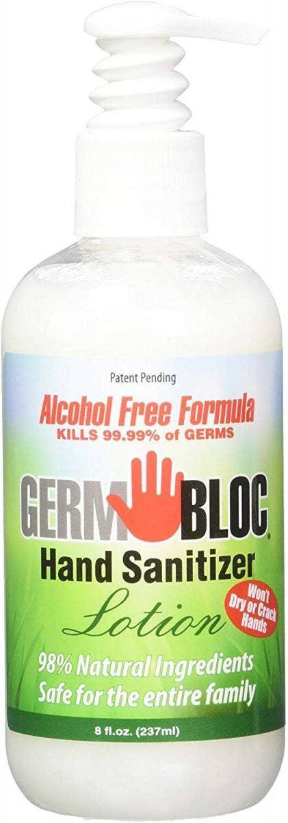 GermBloc Hand Sanitizer Lotion hand sanitizer for sensitive skin