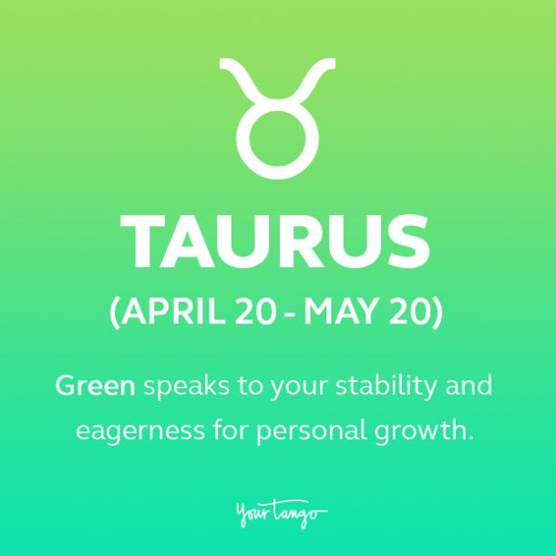 Taurus power color green