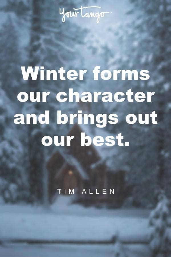Tim Allen winter solstice quote