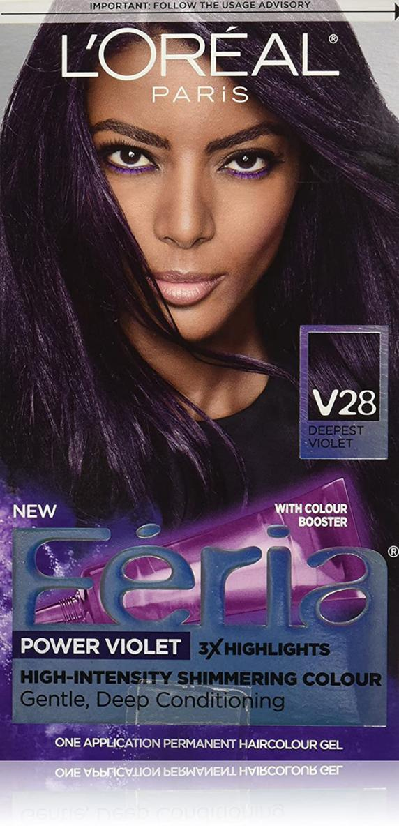 L'Oreal Paris Feria High-Intensity Shimmering Color in Power Purple