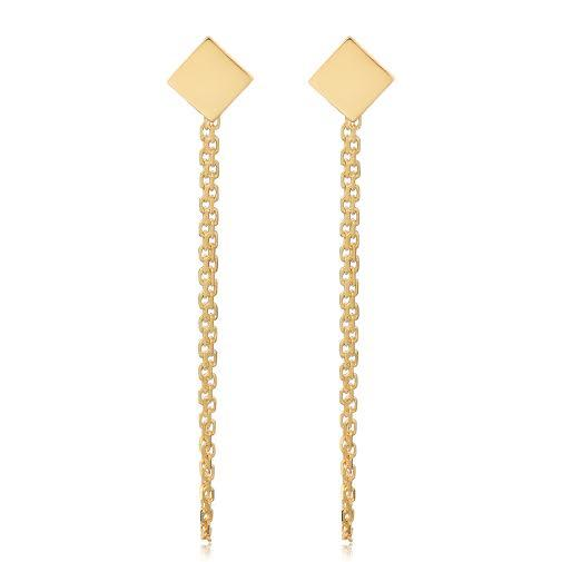 Oradina Draped In Gold Earrings