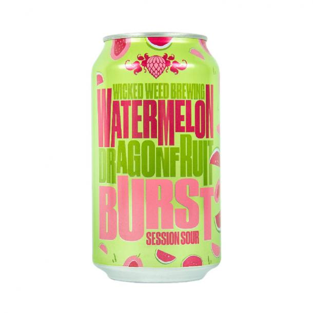 Wicked Weed Brewing Watermelon Dragonfruit Burst