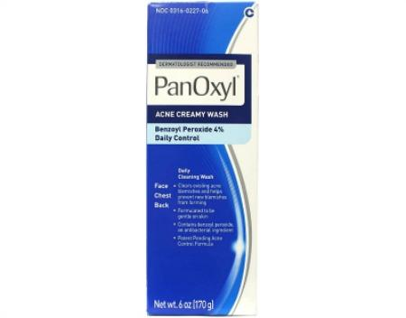 PanOxyl 4% Benzoyl Peroxide Acne Creamy Wash