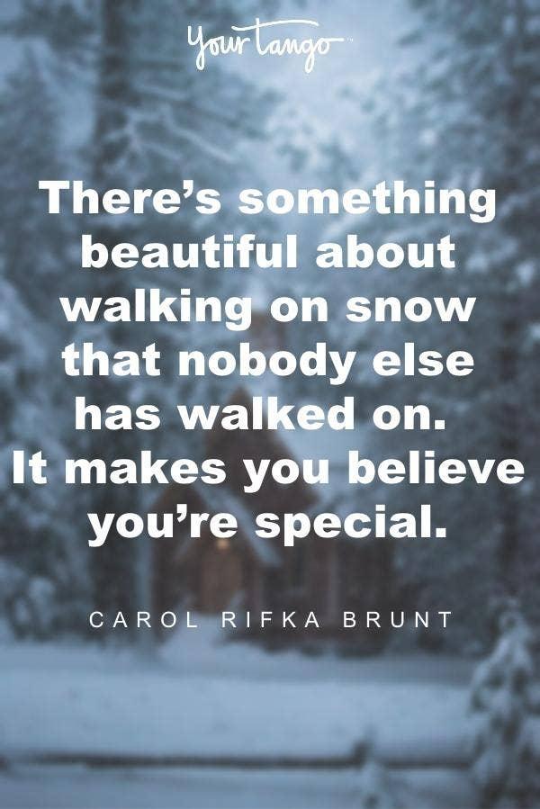 Carol Rifka Brunt winter solstice quote