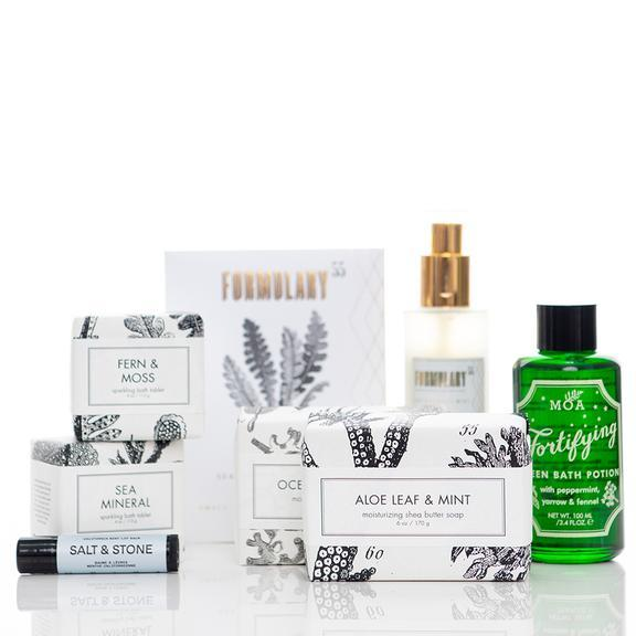 Formulary 55 Self Care Bath & Body Gift Set - Minty Fresh