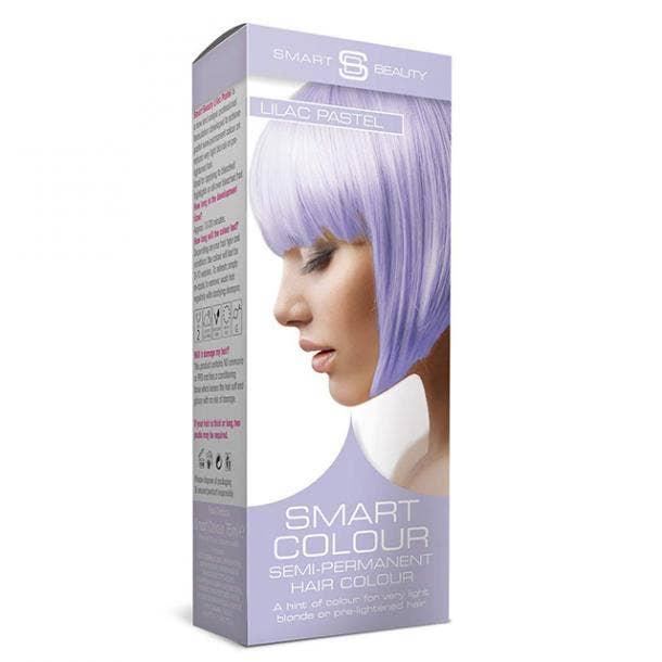 Smart Beauty Semi-Permanent Hair Dye in Lilac Haze Purple Pastel
