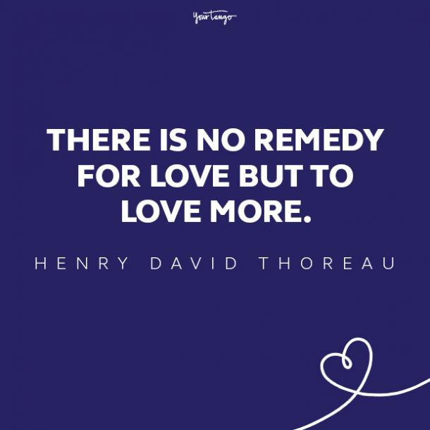 henry david thoreau love quote