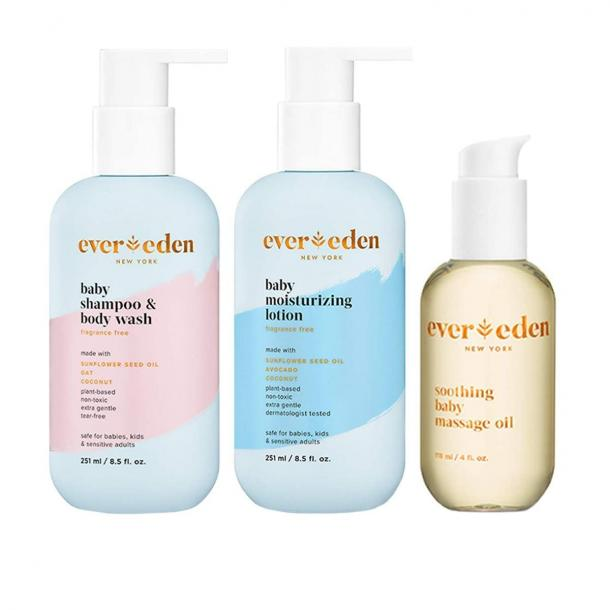 Evereden Baby Bathtime Basics Trio