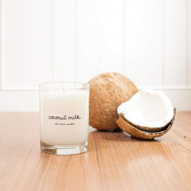 Coconut-Soy Wax Blend Coconut Milk Scented Candle