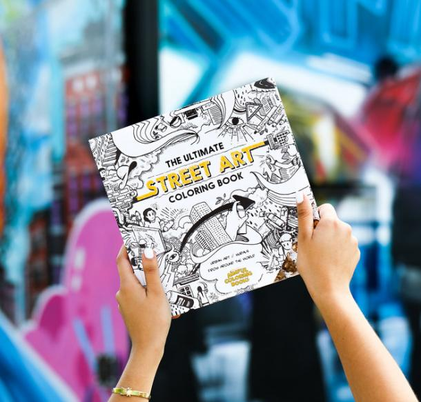 Ultimate Street Art Coloring Book