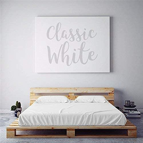 The Original Moisture Wicking California King Sheet Set Classic White