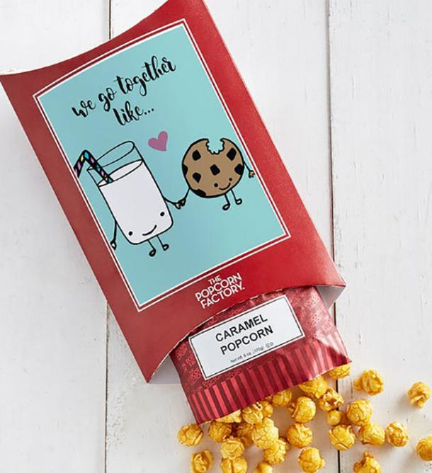 Cards With Pop 'We Go Together' from The Popcorn Factory