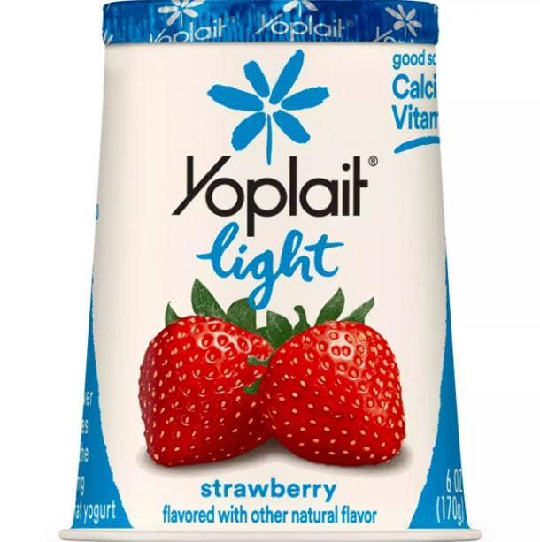 Yoplait Light Strawberry Yogurt