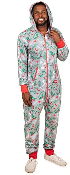 Tipsy Elves' Men's Mistle Head-to-Toe Jumpsuit