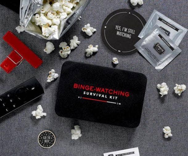 Binge-Watching Survival Kit