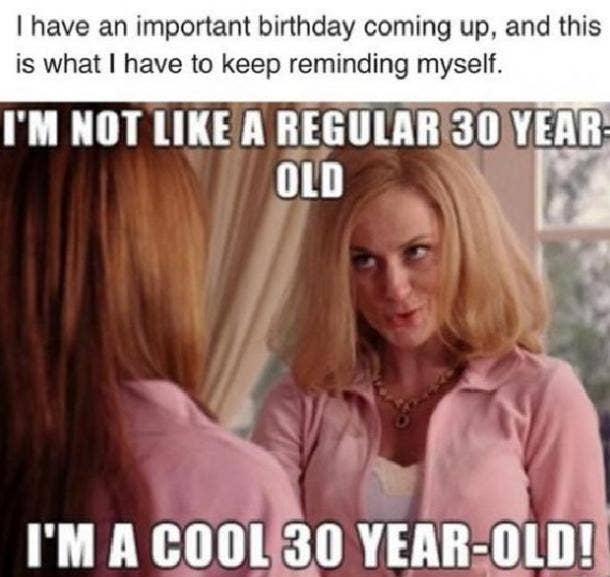 mean girls 30th birthday meme
