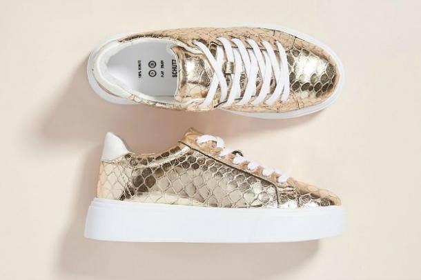 Schutz Raver Platform Sneakers