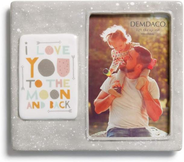 Demdaco Moon & Back Picture Frame
