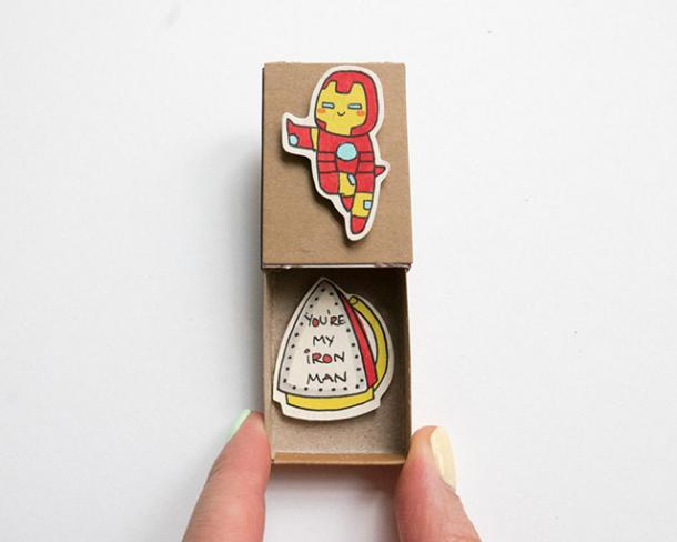 'You're My Iron Man' Card