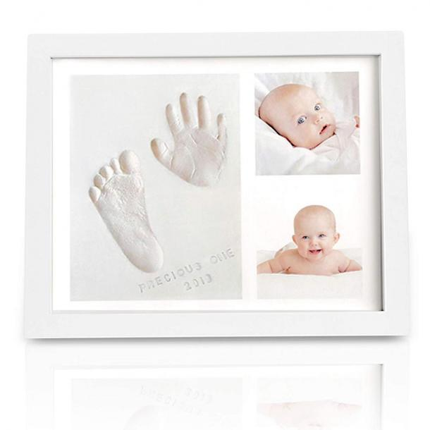 KeaBabies Baby Handprint Footprint Keepsake Kit