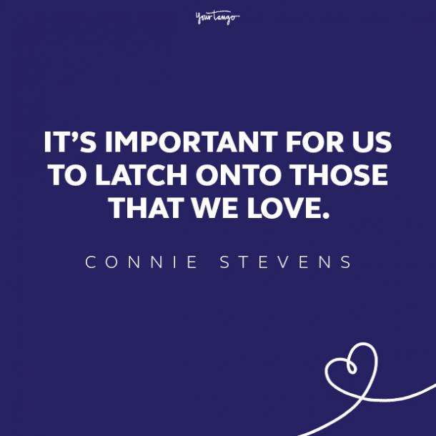 connie stevens love quote