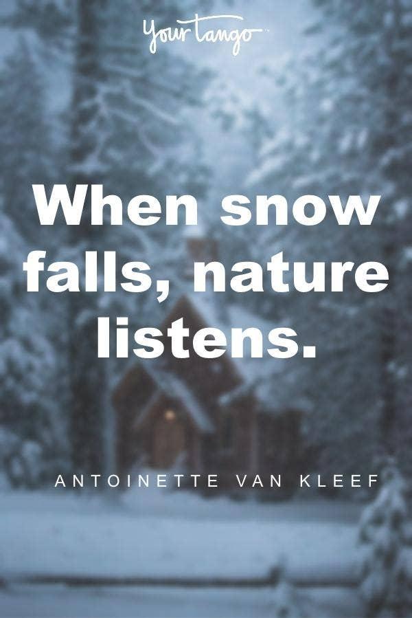 Antoinette Van Kleef winter solstice quote