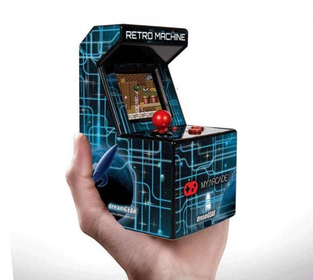 Retro Machine Playable Mini Arcade
