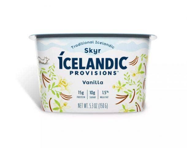 Icelandic Provisions Vanilla Skyr Yogurt