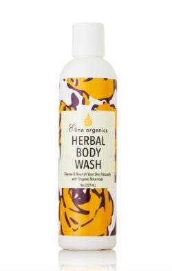 Elina Organics Skincare Herbal Body Wash
