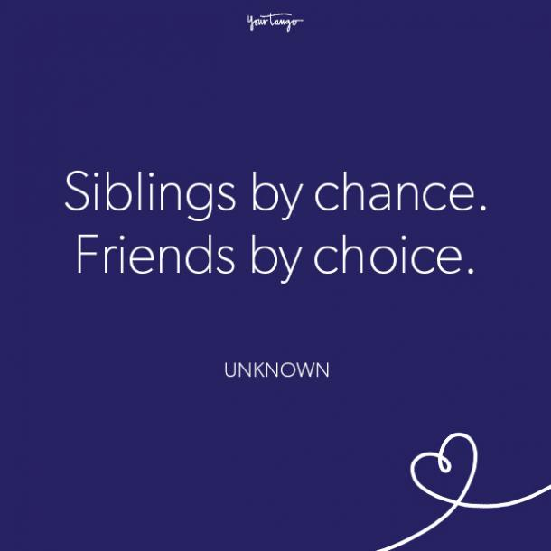 brother quote sister quote national siblings day