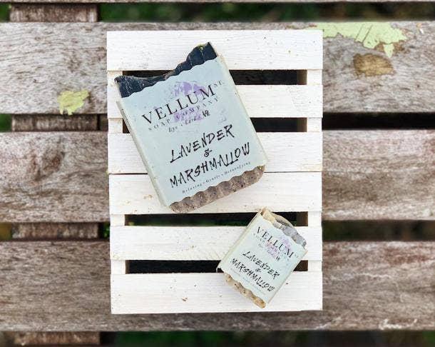 Vellum Lavender & Marshmallow Tallow Soap