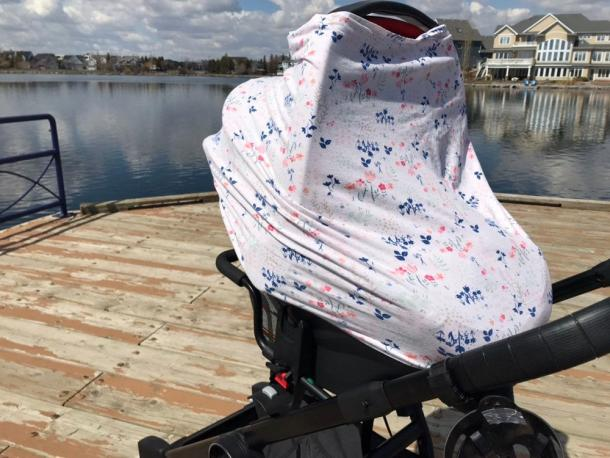 Pretty Plum Boutique Nursing & Car Seat Cover