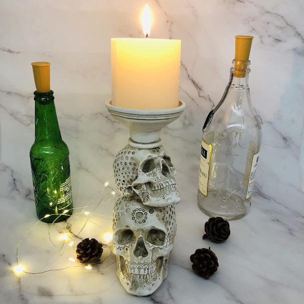 halloween wedding ideas candle holder
