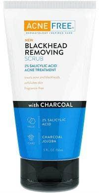Acne Free Blackhead Removing Scrub