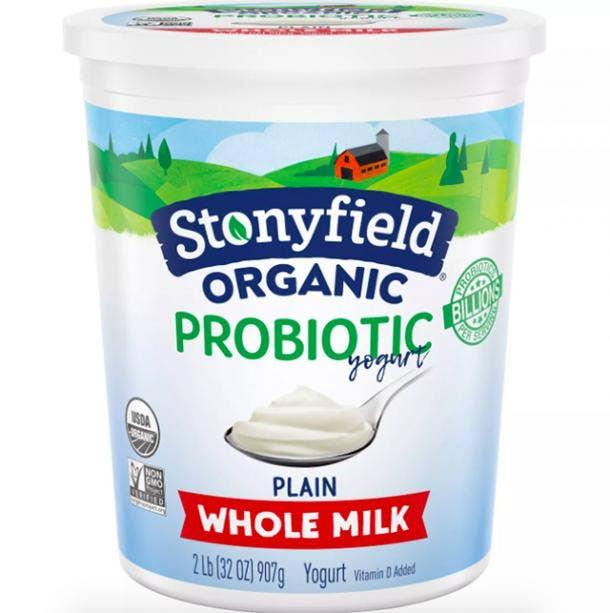 Stonyfield Farm Organic Yogurt
